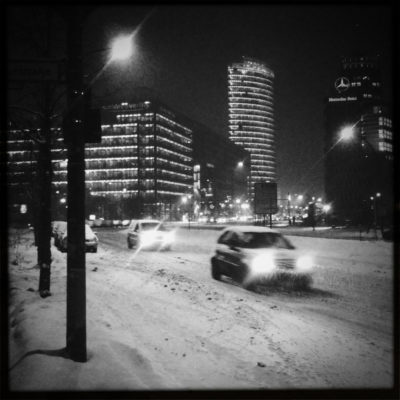Potsdamer Platz im Winter