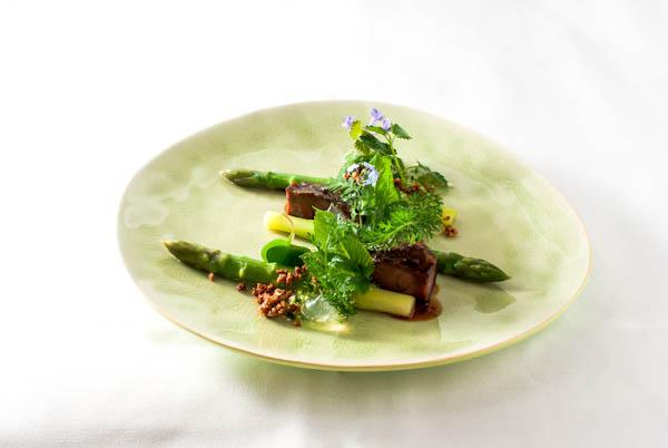 Schweinebäckchen - Grüner Spargel - Zitronenvinaigrette - Kräuter - Quinoa (8 von 18)-1634 - 23. Mai 2013 - 001