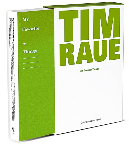 """""""My Favorite Things"""" – Tim Raue"""