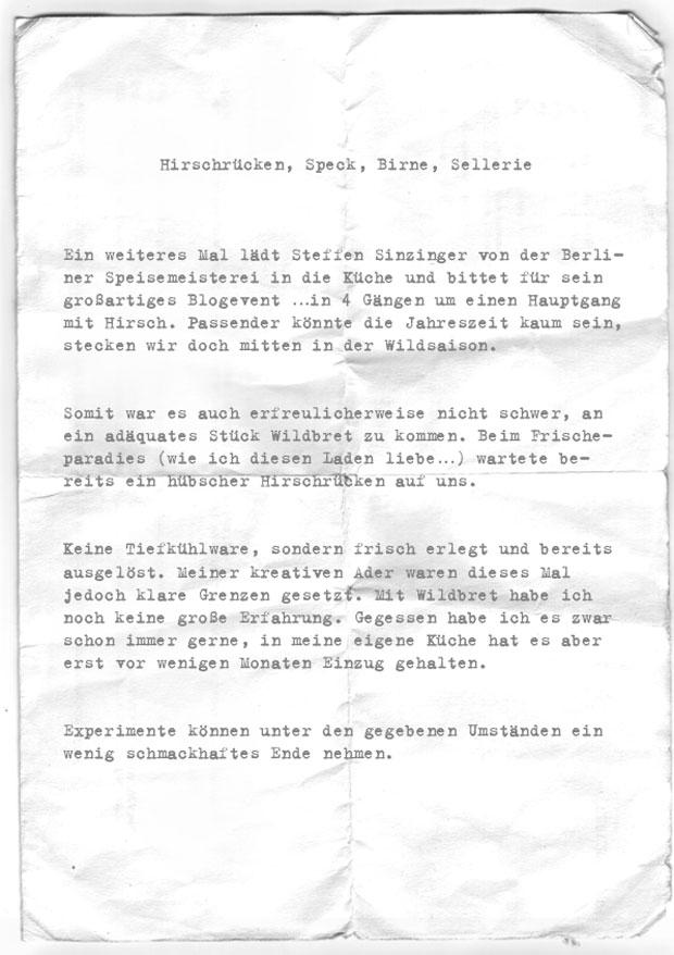 Dirk-Dreizeiler-Hirsch