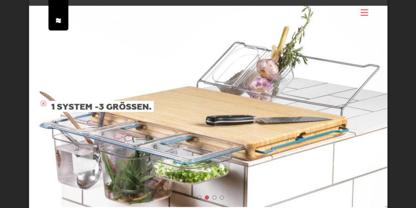Das Frankfurter Brett · Screenshot der Seite https://www.frankfurter-brett.de