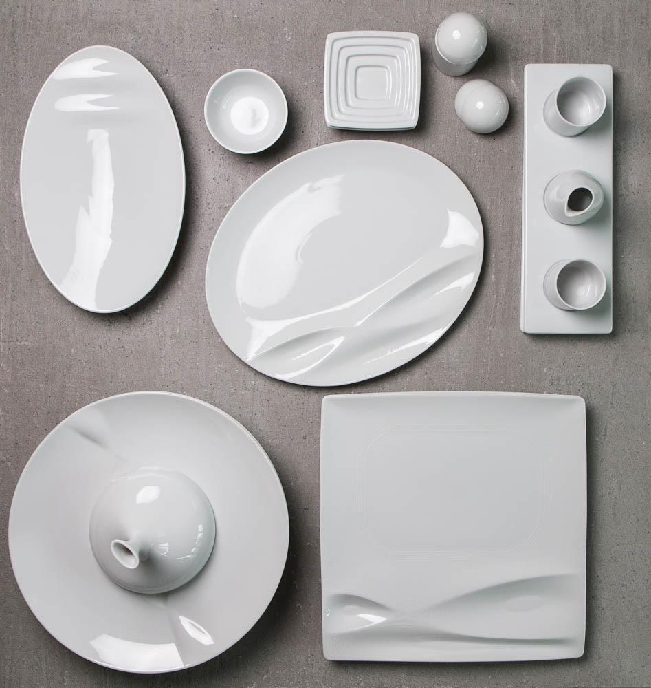 Modernes Geschirr Set das moderne porzellan berliner speisemeisterei