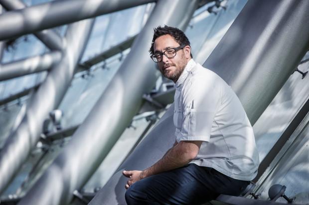 Christopher Kostow im Oktober zu Gast im Restaurant Ikarus • Helge Kirchberger Photography / Red Bull Hangar-7