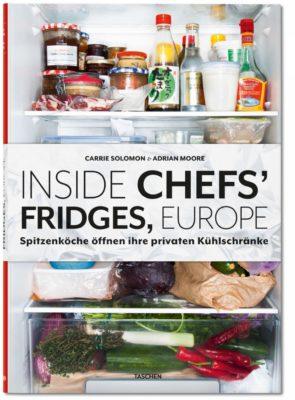 """""""Inside Chefs`Fridges, Europe"""" Adrian Moore & Carrie Solomon"""