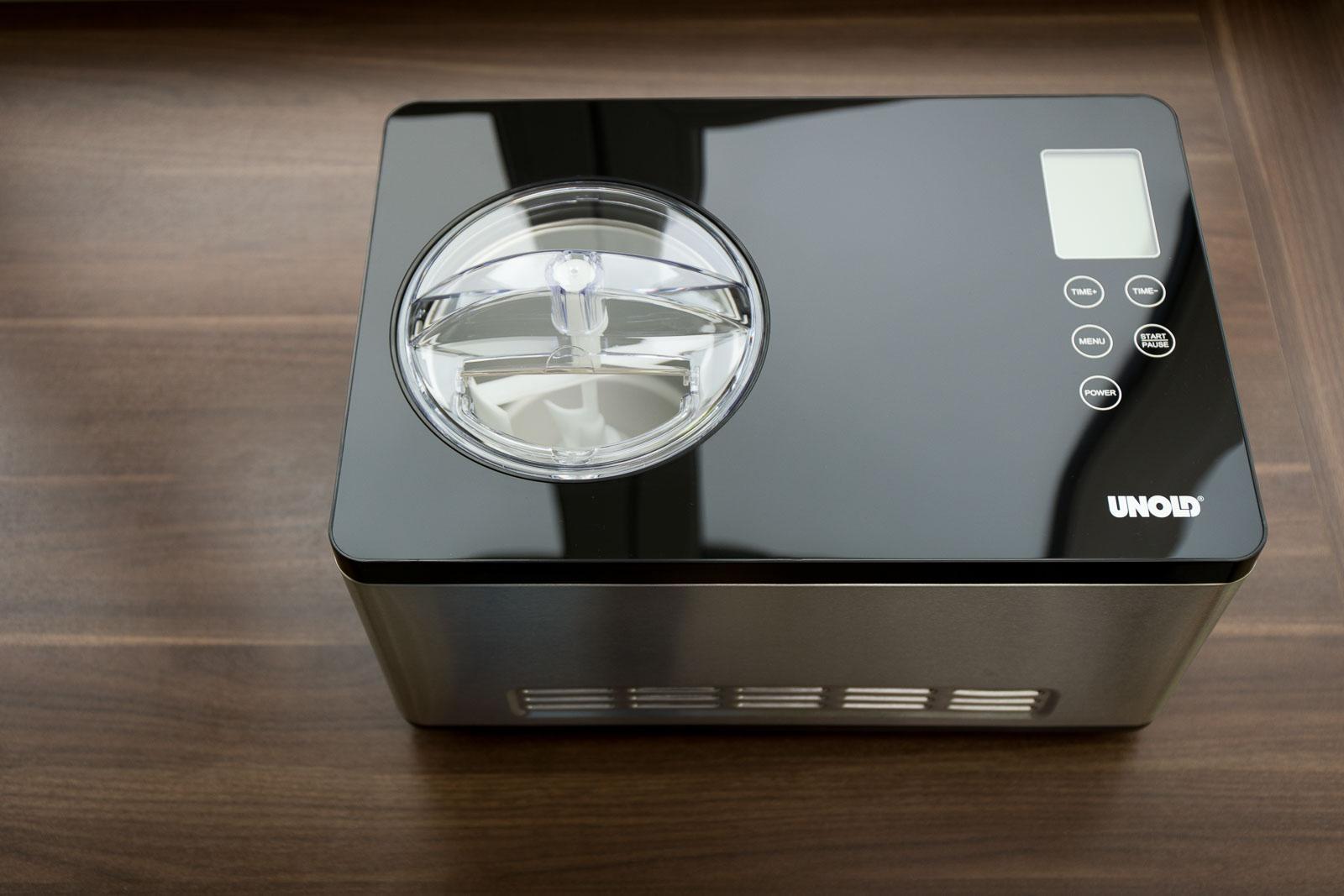 Mini Kühlschrank Unold : Preiswert unold eismaschine profi plus w edelstahl
