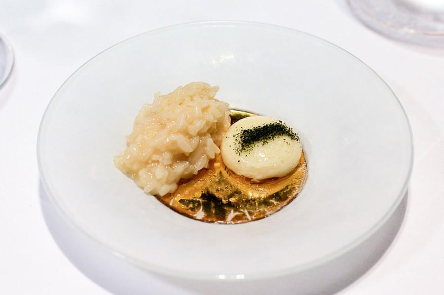 Parmigiano Reggiano in 4 Gängen • Parmesanrisotto