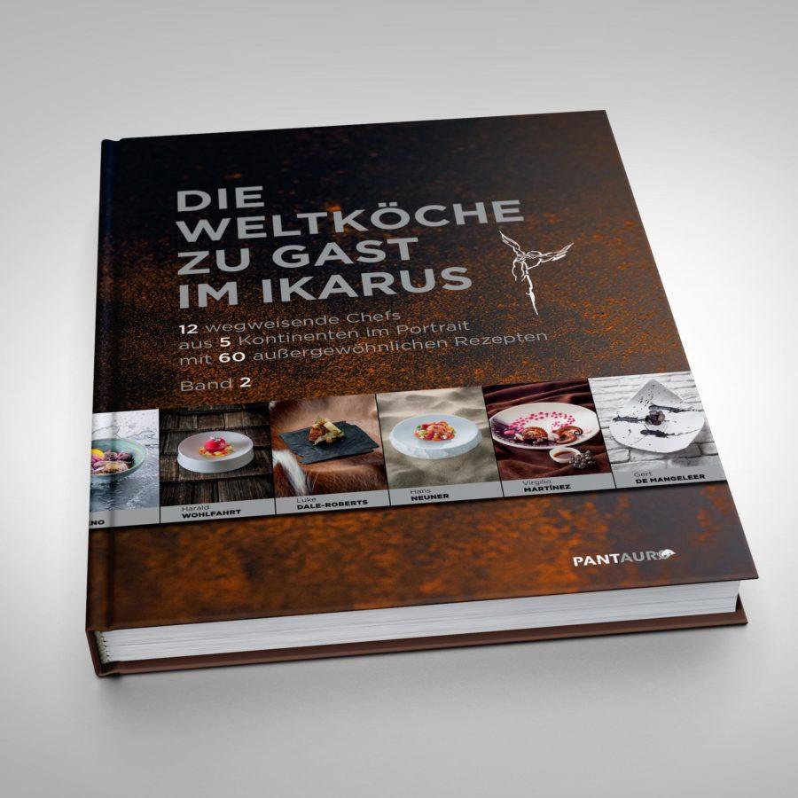 """""""Die Weltköche zu Gast im Ikarus - Band 2"""" Martin Klein"""