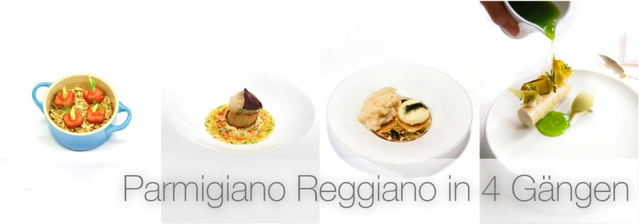 Parmigiano Reggiano in 4 Gängen • Parmesan-Espuma