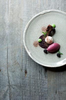 Schokolade, wilde Brombeeren & Mascarpone