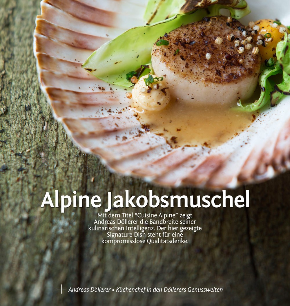 Ein Signature Dish von Andreas Döllerer
