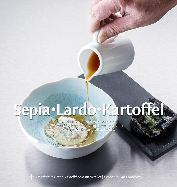 Rezept von Dominique Crenn
