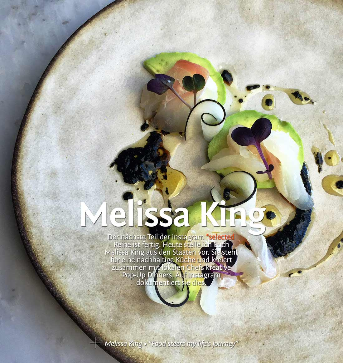 instagram *selected: Melissa King