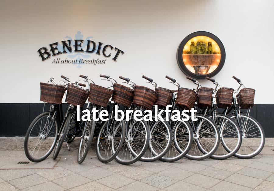 Frühstück 247 Restaurant Benedict Berliner Speisemeisterei