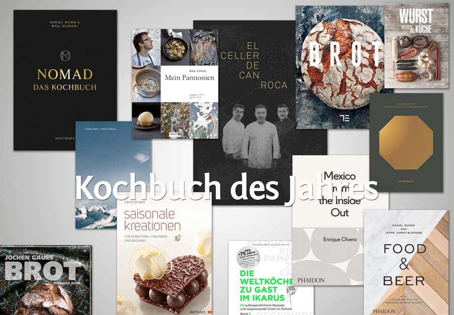 Kochbuch des Jahres 2016