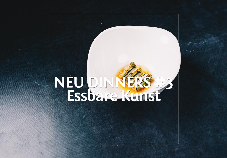 NEU DINNERS #3 mit essbarerer Kunst und Zacapa · Berliner Speisemeisterei