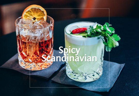 Spicy Scandinavian made of Aquavit