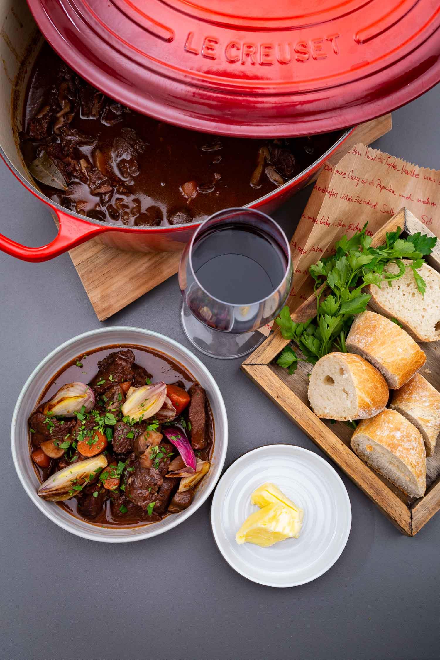Das gute Fleisch - Boeuf Bourguignon · Berliner Speisemeisterei