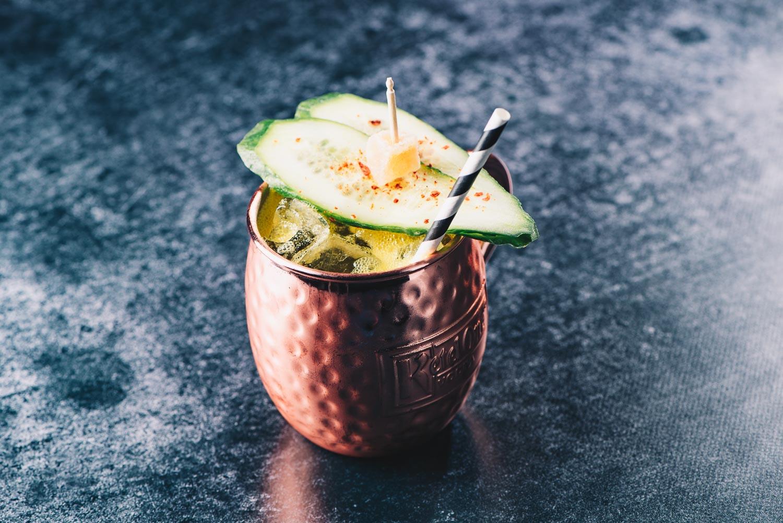 Mezcal Mule • A Perfect Winter Cocktail · Berliner Speisemeisterei