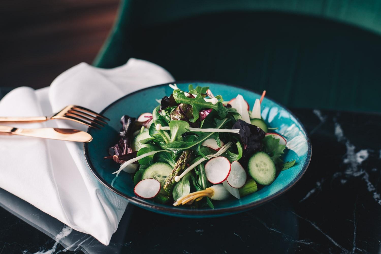 Frühlingssalat mit 1 nicen Dressing