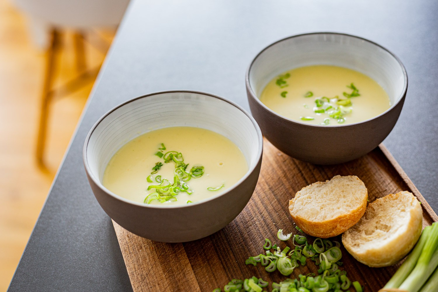 Petersilienwurzelcremesuppe