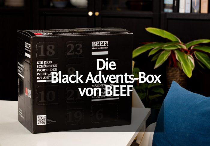 Black- Advent Box